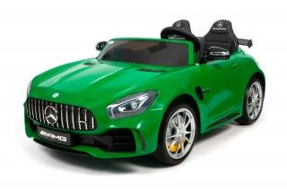 Электромобиль BARTY MERCEDES-BENZ AMG GT R зеленый глянец