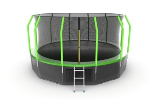 Батут EVO JUMP COSMO 16FT GREEN + LOWER NET