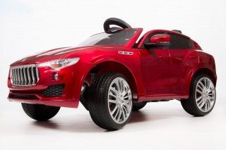 Электромобиль BARTY MASERATI LEVANTE T005MP вишневый