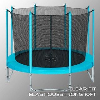 Батут CLEAR FIT ELASTIQUE STRONG 10 FT