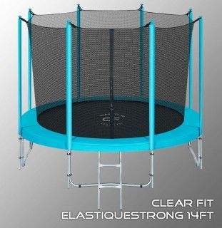 Батут CLEAR FIT ELASTIQUE STRONG 14 FT