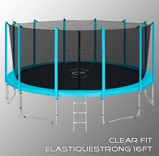 Батут CLEAR FIT ELASTIQUE STRONG 16 FT